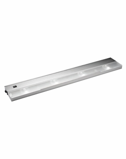 12214SS Kichler KCL Low V Modular 4Lt Xenon 120v/20w Cabinet Strip/Bar Light