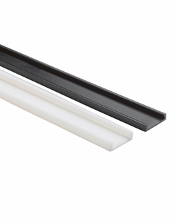 12330BK Kichler Utilitarian Linear Track LED - Black Material (Not Painted)