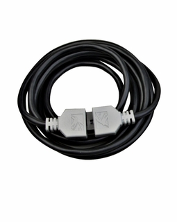 12346BK Kichler KCL Modular Power Supply Lead 8ft LED Cabinet Cable/Wire