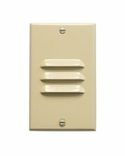 12606IV Kichler KCL LED Step and Hall Light Vertical Louver Cabinet Fixture-Misc
