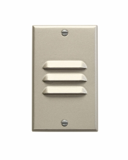 12606NI Kichler KCL LED Step and Hall Light Vertical Louver Cabinet Fixture-Misc