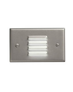 12650NI Kichler KCL LED Step and Hall Light Horiz. Louver Cabinet Fixture-Misc