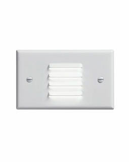 12650WH Kichler KCL LED Step and Hall Light Horiz. Louver Cabinet Fixture-Misc