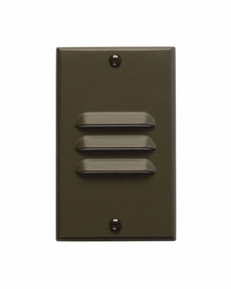 12656AZ Kichler KCL LED Step and Hall Light Vertical Louver Cabinet Fixture-Misc