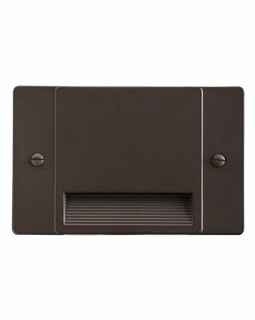 12663AZ Kichler Utilitarian Step and Hall 120V LED Step Light Non Dimmable - Architectural Bronze