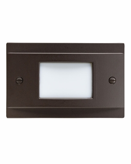 12665AZ Kichler Utilitarian Step and Hall 120V LED Step Light Non Dimmable - Architectural Bronze