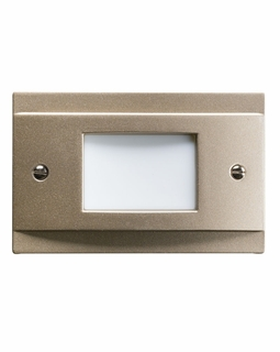 12665NI Kichler Utilitarian Step and Hall 120V LED Step Light Non Dimmable - Brushed Nickel