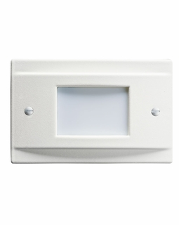 12665WH KCL Utilitarian LED Step Light Non-Dimmable (white)