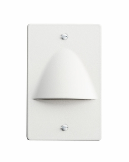 12667WH Kichler Utilitarian LED Step Light Non Dimmable White