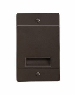 12668AZ KCL Utilitarian LED Step Light Non-Dimmable (architectural bronze)