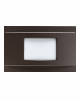 12675AZ Kichler Utilitarian Step and Hall 120V Steplight Dimmable LED - Architectural Bronze