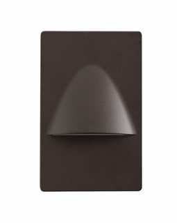 12677AZ Kichler Utilitarian Steplight Dimmable LED Architectural Bronze