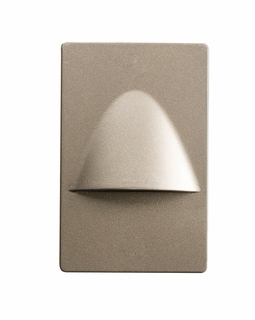 12677NI Kichler Utilitarian Steplight Dimmable LED Brushed Nickel