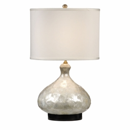 13117 Wildwood Lamps Shells Bottle Lamp
