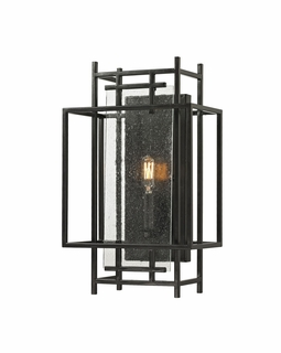 14200/1 Transitional Intersections 1 Light Wall Sconce In Oil Rubbed Bronze