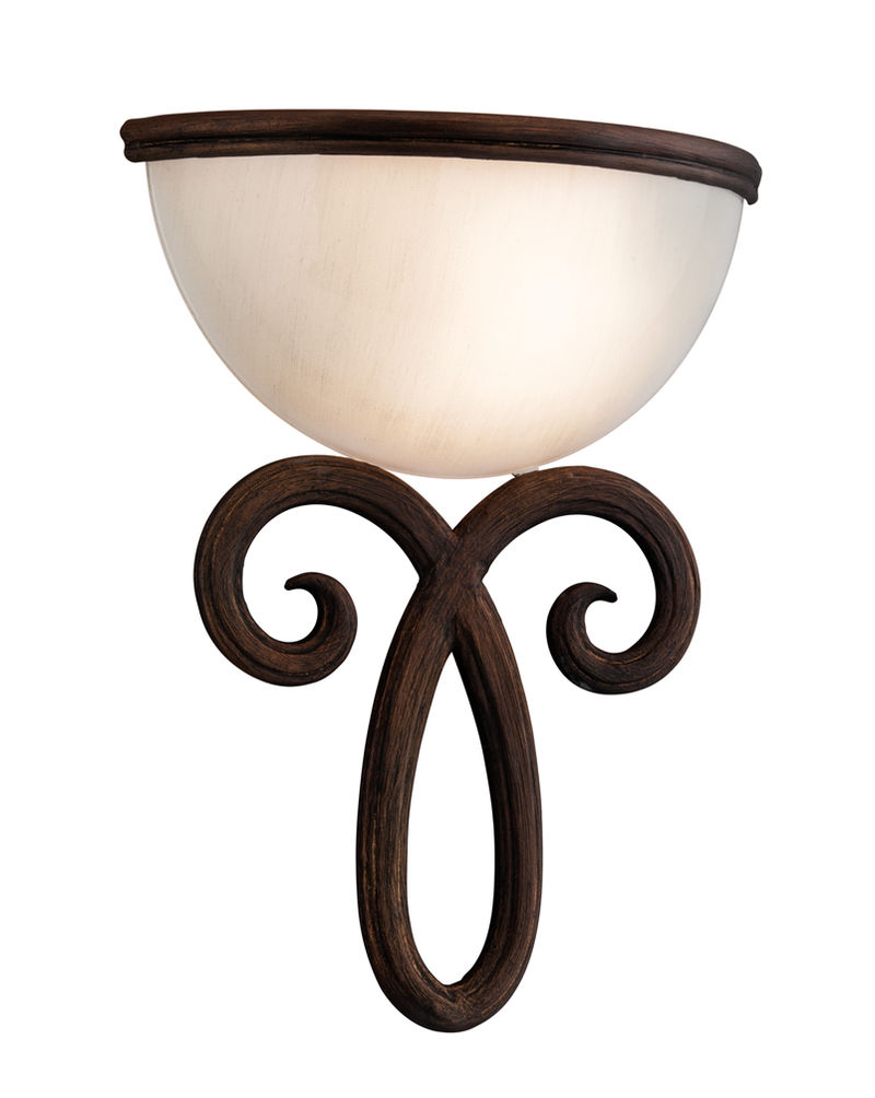 Wall Sconce No Light : 153-11 Corbett Lighting Dauphine 2 Light Sconce Wall Sconce in Bronze