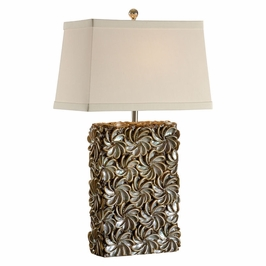 15710 Wildwood Lamps Swirl of Shells Lamp