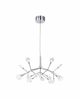 18521/18 Elk Flavante 18 Light Chandelier In Polished Chrome