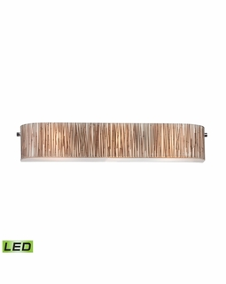 19066/3-LED Elk Modern Modern Organics 3 Light LED Vanity In Polished Chrome
