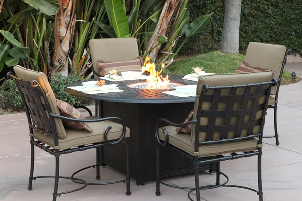 201060 Gd Darlee 60 Quot Round Universal Propane Fire Pit