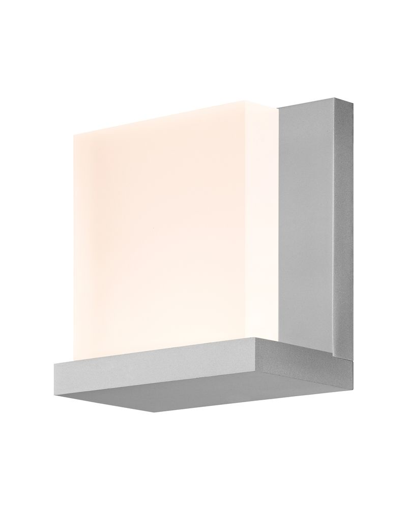 Architectural Led Wall Sconces : 2350.16 Sonneman Glow2 Architectural ADA LED Wall Sconce with Bright Satin Aluminum Finish