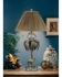 2565 Wildwood Lamps Wilton Lamp - Old Silver/Clear Finish