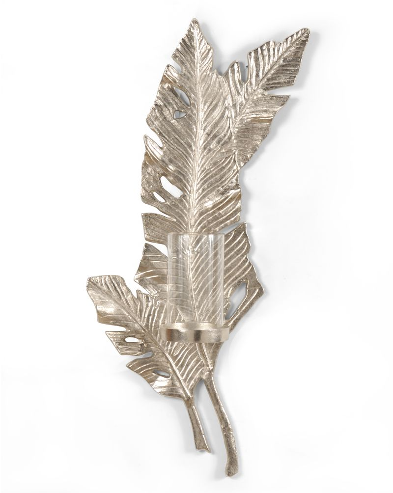 292421 Wildwood Lamps Leaf Wall Sconce