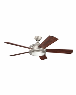 300192NI Builder Fans Transitional 60 Inch Enthrall LED Fan (brushed nickel)