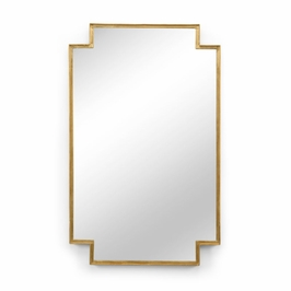 301344 Wildwood Lamps Fiona Mirror - Gold