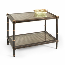 380093 Chelsea House Conner Cane Cocktail Table