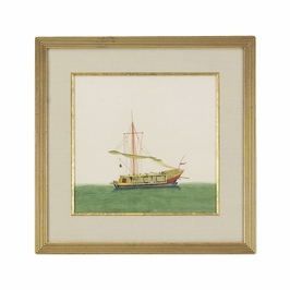 380246 Chelsea House Chinese Junk-Sail Furld