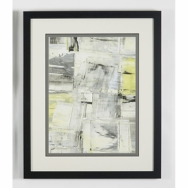 380479 Chelsea House Zest - II-Lithograph Print Black Frame With Triple Mat