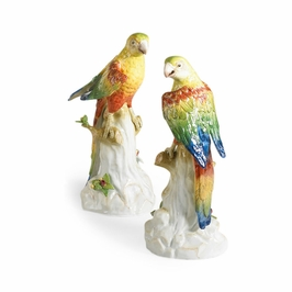 380700 Chelsea House Yellow Parakeets-Pair