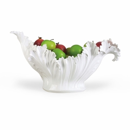 380757 Chelsea House Acanthus Leaf Bowl
