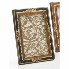 381104 Chelsea House 60-0009B 4 X 6 Rectangular Black-Wood Frame Embossed