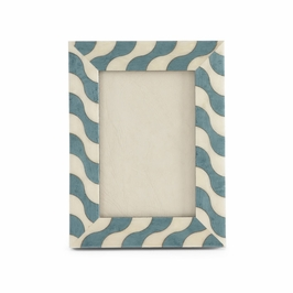 381159 Chelsea House Sibilla Azzurro-8X10-Maple Frame With Veneer