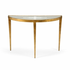 381700 Chelsea House Celtic Knot Console - Gold