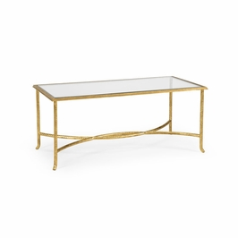 381984 Chelsea House Watson Coffee Table - Gold
