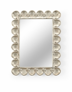 382077 Chelsea House Scallop Mirror (Small)