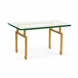 382494 Chelsea House Hammered Coffee Table