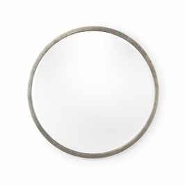 382602 Chelsea House Round Mirror - Silver (Large)