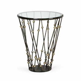 382683 Chelsea House Wire & Ball Table