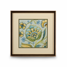 386112 Chelsea House Decorative Golden Bloom Iii