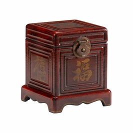 391909 Wildwood Lamps Footed Box