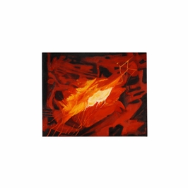394936 Wildwood Lamps Contemporary Oil Painting - Artists Work On Stretched Canvas Finish