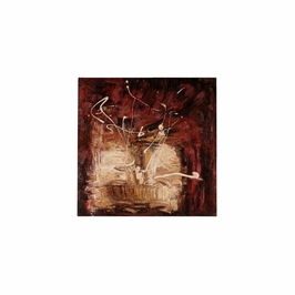 394942 Wildwood Lamps Contemporary Oil Painting - Artists Work On Stretched Canvas Finish