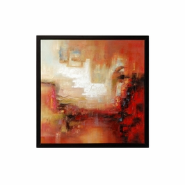 395042 Wildwood Artists Work Stretched Canvas Blaze (Framed Oil Painting)