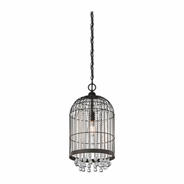 42033OZ Kichler Transitional Foyer Pendant 1Lt (olde bronze)