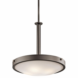 42244OZ Kichler Lytham 4Lt Inverted Pendant Small
