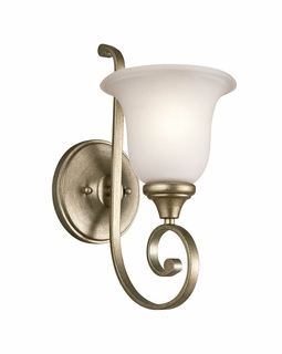 43170SGD Builder Traditional Monroe Wall Sconce 1Lt (sterling gold)